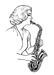 Line art drawing by Pearson Scott Foresman, Wikimedia